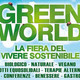 GREEN WORLD, FIERA DEL SOSTENIBILE A MILANO